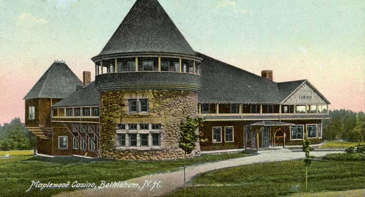Maplewood Clubhouse Weddings At The Old Postcard 1913